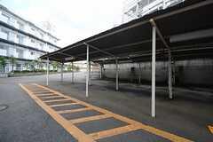 駐輪場の様子。(2014-10-16,共用部,GARAGE,1F)