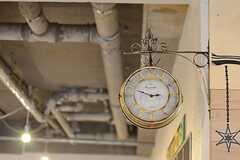 レトロな時計。(2014-10-16,共用部,OTHER,1F)
