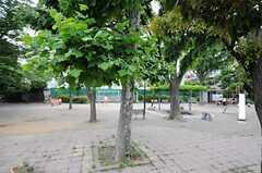 シェアハウス近くにある公園の様子。(2013-05-28,共用部,ENVIRONMENT,1F)