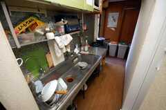 シェアハウスのキッチンの様子。(2008-05-15,共用部,KITCHEN,3F)