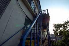 非常階段の様子。(2008-05-15,共用部,OTHER,1F)