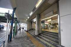 各線・西日暮里駅の様子。(2014-06-12,共用部,ENVIRONMENT,1F)