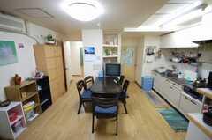 シェアハウスのラウンジ2。(2008-05-15,共用部,LIVINGROOM,2F)