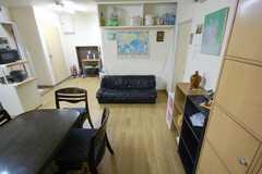 シェアハウスのラウンジ3。(2008-05-15,共用部,LIVINGROOM,2F)