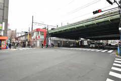 各線・西日暮里駅の様子。(2017-11-28,共用部,ENVIRONMENT,1F)