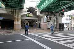 JR常磐線・三河島駅の様子。(2011-10-13,共用部,ENVIRONMENT,1F)