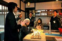 関係者向けのお披露目イベントの様子。(2009-01-07,共用部,PARTY,1F)