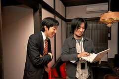 関係者向けのお披露目イベントの様子8。(2009-01-07,共用部,PARTY,1F)