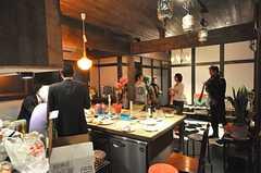 関係者向けのお披露目イベントの様子9。バウハウス高円寺のメンバーも参戦。(2009-01-07,共用部,PARTY,1F)