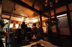 関係者向けのお披露目イベントの様子18。(2009-01-07,共用部,PARTY,1F)