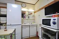 洗面台の様子。(2013-09-17,共用部,OTHER,1F)