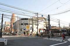 各線・町屋駅前の様子2。(2012-10-16,共用部,ENVIRONMENT,1F)