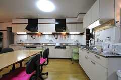 キッチンの様子。(2012-10-16,共用部,KITCHEN,1F)