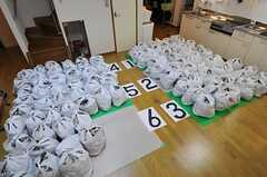 畳の大きさで表すと5.5枚分。(105号室)(2012-10-16,専有部,ROOM,1F)