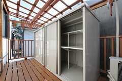 小屋収納は4人で1台使えます。(2012-10-16,共用部,OTHER,2F)