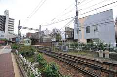都営都電荒川線・三ノ輪橋駅の様子。(2014-04-28,共用部,ENVIRONMENT,1F)
