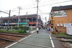 都営都電荒川線・三ノ輪橋駅前の様子。(2014-04-28,共用部,ENVIRONMENT,1F)