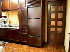 キッチンに設置された冷蔵庫(2006-03-11,共用部,KITCHEN,2F)