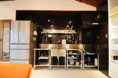シェアハウスのキッチンの様子。(2010-03-23,共用部,KITCHEN,1F)
