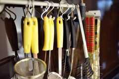 キッチン周辺の様子。(2010-03-23,共用部,KITCHEN,1F)