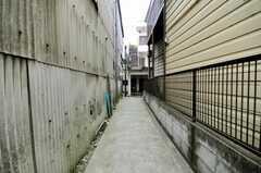 自転車置場の様子。(2010-03-23,共用部,GARAGE,1F)