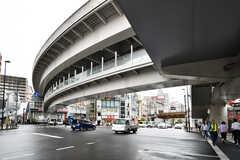 各線・西日暮里駅周辺の様子。(2019-08-30,共用部,ENVIRONMENT,2F)