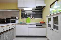 キッチンの様子。(2012-11-16,共用部,KITCHEN,1F)