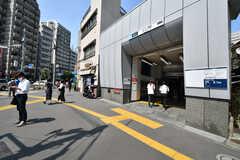 東京メトロ日比谷線・三ノ輪駅の様子。(2020-08-04,共用部,ENVIRONMENT,1F)