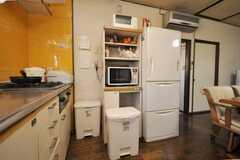 キッチン家電の様子。(2009-03-02,共用部,OTHER,2F)