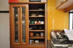 食器棚の様子。(2009-03-02,共用部,OTHER,2F)