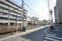 都電荒川線東尾久3丁目駅の様子。(2009-03-02,共用部,ENVIRONMENT,1F)