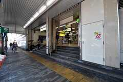 各線・西日暮里駅の様子2。(2017-07-10,共用部,ENVIRONMENT,8F)