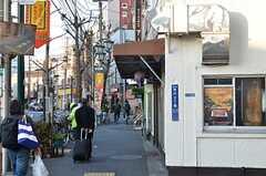 JR常磐線・三河島駅周辺の様子。(2016-01-07,共用部,ENVIRONMENT,1F)