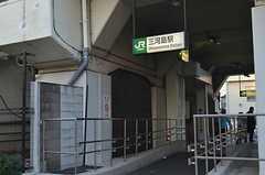 JR常磐線・三河島駅の様子。(2016-01-07,共用部,ENVIRONMENT,1F)