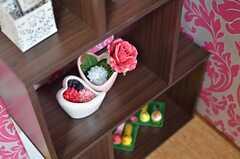 可愛らしい小物が飾られています。(2013-09-12,共用部,LIVINGROOM,1F)