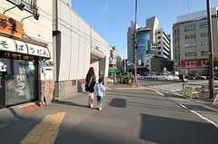 東京メトロ日比谷線・三ノ輪駅の様子。(2013-09-12,共用部,ENVIRONMENT,1F)