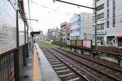 都電荒川線・小台駅の様子。(2010-10-28,共用部,ENVIRONMENT,1F)