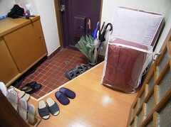 玄関の様子。(2005-06-17,周辺環境,ENTRANCE,)