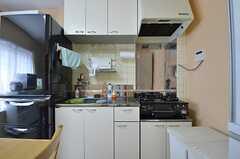 キッチンの様子。(2014-07-14,共用部,KITCHEN,2F)