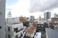 窓から見た外の風景。(507号室)(2012-09-18,専有部,ROOM,5F)