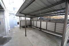 駐輪場の様子。(2012-09-18,共用部,GARAGE,6F)