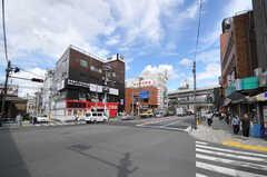 各線・西日暮里駅前の様子。(2012-09-18,共用部,ENVIRONMENT,1F)
