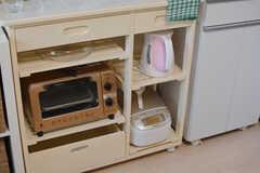 キッチン家電の様子。(2015-11-27,共用部,KITCHEN,2F)