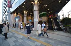 東京メトロ丸ノ内線・茗荷谷駅の様子。(2015-11-27,共用部,ENVIRONMENT,1F)