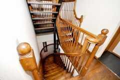 階段の様子。(2009-10-05,共用部,OTHER,2F)