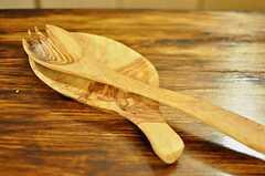 手作り感あふれるフォークとスプーン。(2011-07-29,共用部,KITCHEN,4F)