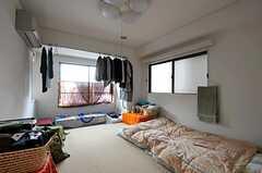 専有部の様子。※備品は入居者さんの私物です。(401号室)(2011-07-29,専有部,ROOM,4F)