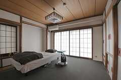 専有部の様子。和テイストです。※備品は入居者さんの私物です。(503号室)(2011-07-29,専有部,ROOM,5F)