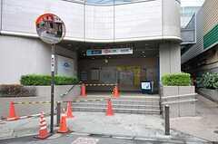 東京メトロ丸の内線・茗荷谷駅の様子。(2011-07-29,共用部,ENVIRONMENT,1F)