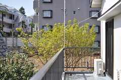 ベランダは201~204号室共用です。(204号室)(2013-03-22,専有部,ROOM,1F)
